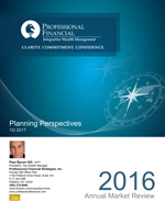 Planning Perspectives Annual Market Review 2016