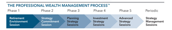 Professional Wealth Management Process graphic