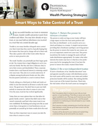 Smart Ways to Take Control of a Trust - cover image