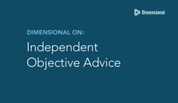 Independent Objective Advice screen