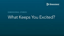 What Keeps You Excited screen