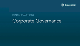 Corporate Governance video screen