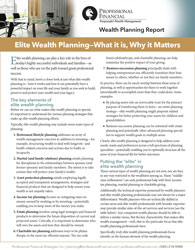 cover image of Elite Wealth Report - Elite Wealth Planning - What it Is, Why it Matters