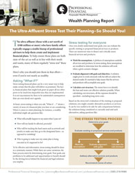 cover image of Elite Wealth Report - The Ultra-Affluent Stress Test Their Planning — So Should You!